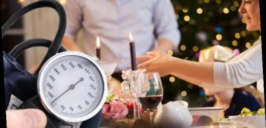 High blood pressure: Avoid this food at Christmas if you're looking to lower your reading