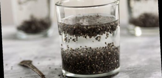 The reason you should add chia seeds to your water