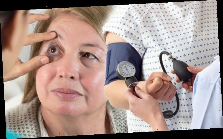 High blood pressure signs : The worrying symptom in your eyes that could signal your risk
