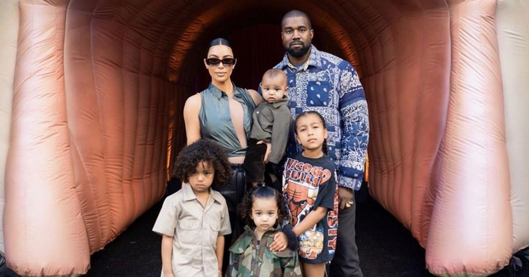 Kim Kardashian, Kanye West's Kids Have Fun at Stormi's 2nd Birthday Party