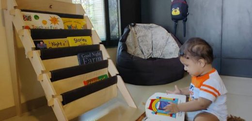 Being Baba: Introduce your baby to the world of books