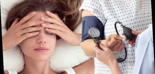 High blood pressure: Having this kind of flatlining feeling could be an early warning