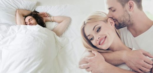 How to get to sleep: Place this 'lover's scent' over your pillow to promote sleep