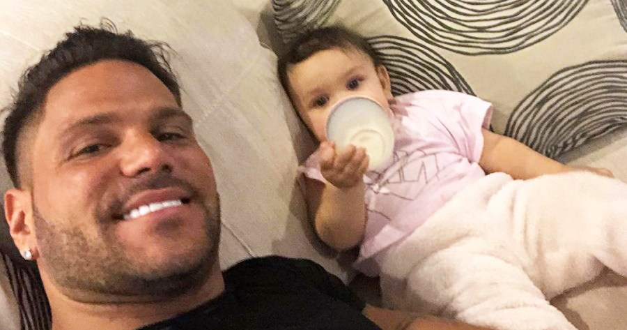 Ronnie Ortiz-Magro Plays With Daughter Ariana After Domestic Violence Drama