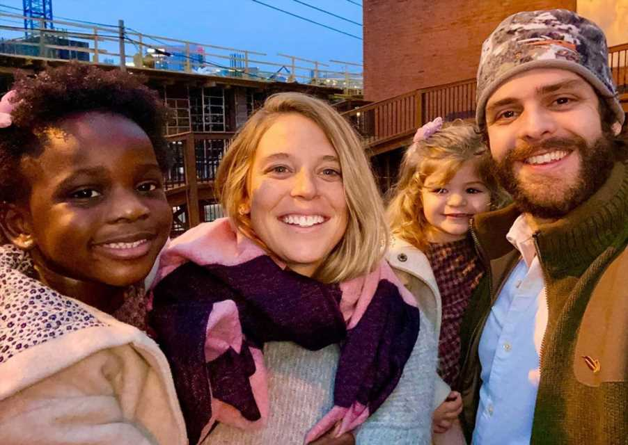 Thomas Rhett and Lauren Akins Are 'Standing Up' Against Racial Injustice for Their Black Daughter