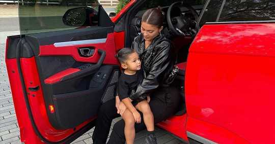 Inside Stormi's Mini Car Collection: Mercedes, 'Frozen' Motorcycle and More