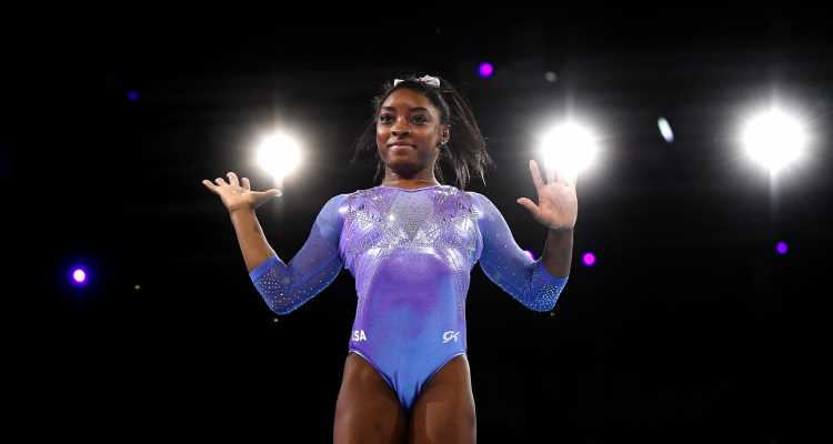 Simone Biles Just Pulled Off A Gymnastics Move That's Never Actually Been Done Before