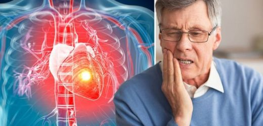 Heart attack symptoms: The warning sign in your tooth that could signal you're at risk