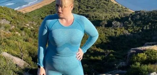 Rebel Wilson Hikes in a Lycra Ensemble as She Continues Her Fitness and Weight Loss Journey