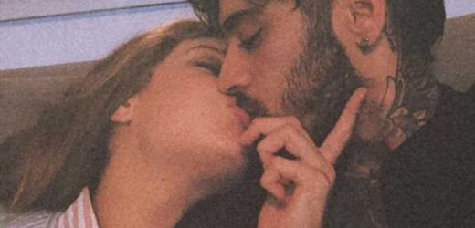 Gigi Hadid Shares Sweet Photo of Her Kissing 'Baby Daddy' Zayn Malik
