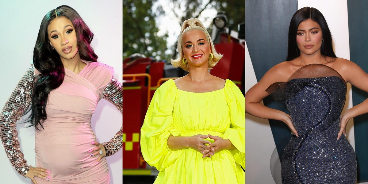 Katy Perry, Kylie Jenner, and 6 other celebrity moms on how their bodies changed during pregnancy