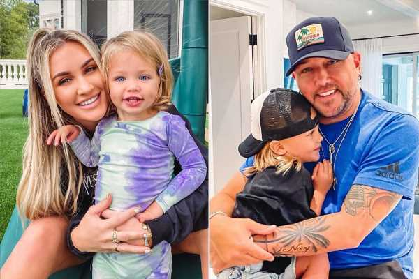 Jason Aldean's Wife Brittany Shares New Family Photo, Reveals Daughter & Son Were Almost IVF Twins