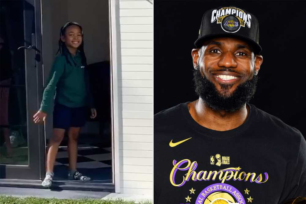 LeBron James Gifts Daughter Zhuri a Lavish Playhouse Ahead of Her 6th Birthday: 'My Princess'