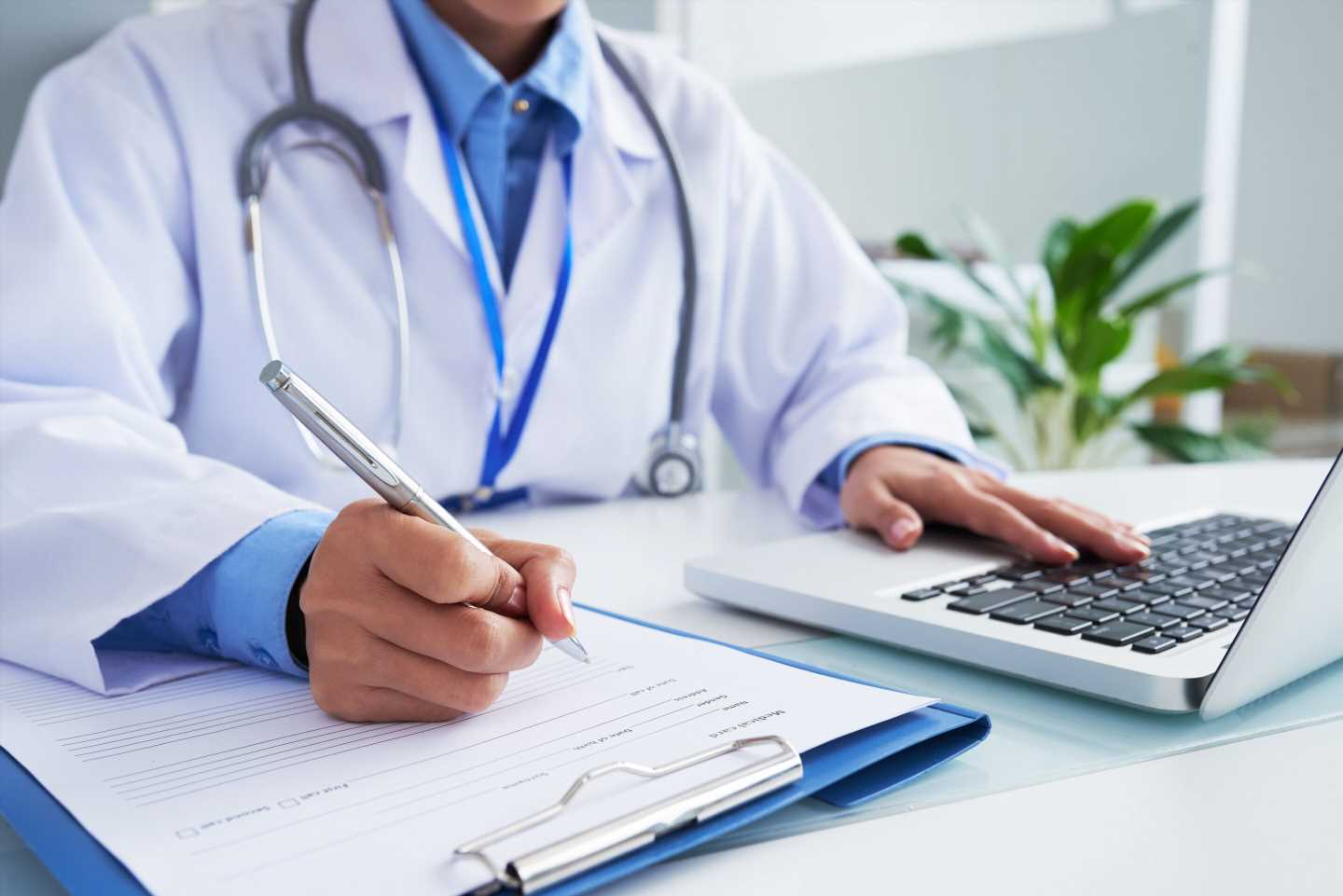 Study finds men do go to the doctor