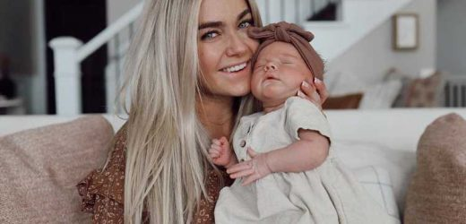 Lindsay Arnold Celebrates Her 'First Thanksgiving with Little Sagey': 'Never Been More Grateful'