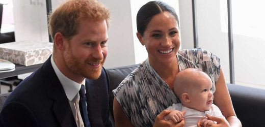 Listen Up! Prince Harry, Meghan Markle's Son Talks and Laughs on Podcast
