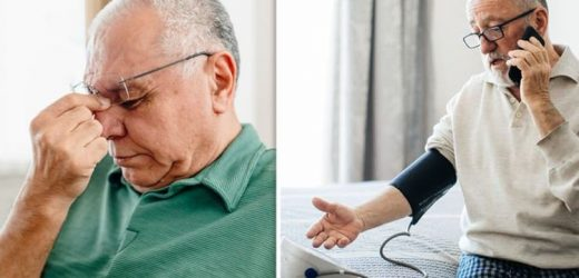 High blood pressure symptoms: The warning signs of a hypertensive crisis