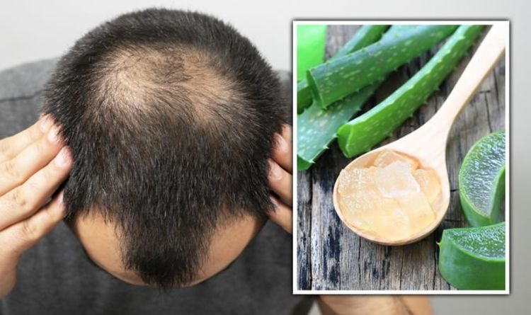 Hair loss treatment: Aloe vera contains important minerals that could promote hair growth