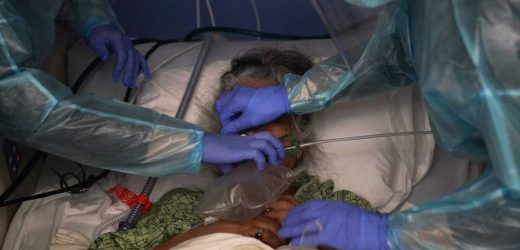 2 in 5 Americans live where COVID-19 strains hospital ICUs