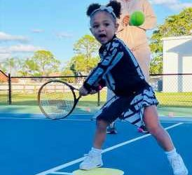 Every Time Serena Williams' Daughter Olympia Ohanian Was Her Mini-Me
