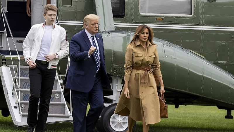 The Sport Donald Trump Doesn't Want Barron To Play