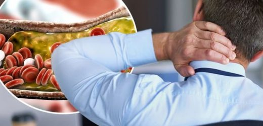 High cholesterol symptoms: The warning sign on the back of your head
