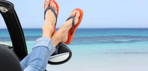 Why You Really Should Never Drive While Wearing Flip-Flops