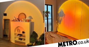 Do the sunset lamps all over the internet have mental health benefits?