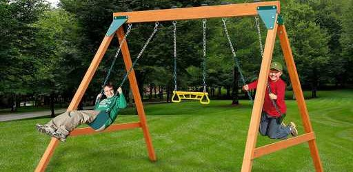 Fun & Affordable Backyard Swing Sets to Keep Kids Entertained All Spring Long