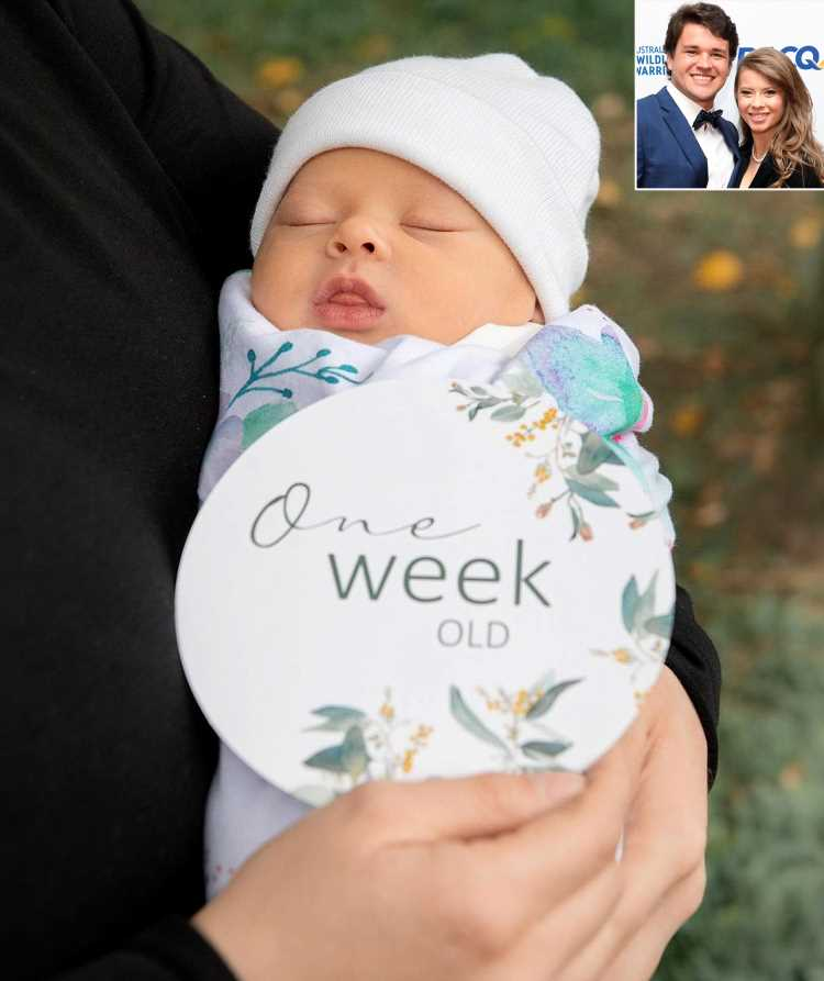 Bindi Irwin and Chandler Powell Share New Photos of Daughter Grace Warrior 1 Week After Her Birth