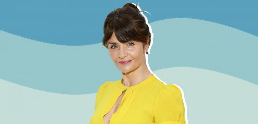 52-Year-Old Model Helena Christensen Stuns on Instagram in a Black Cut-Out Swimsuit