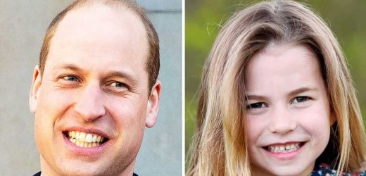 6 Going on 16! Prince William Says Charlotte Tells People She's a Teenager