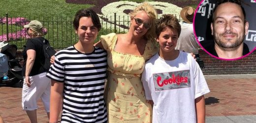 Britney Spears Reflects on Having Sons With Kevin Federline 'Very Young'