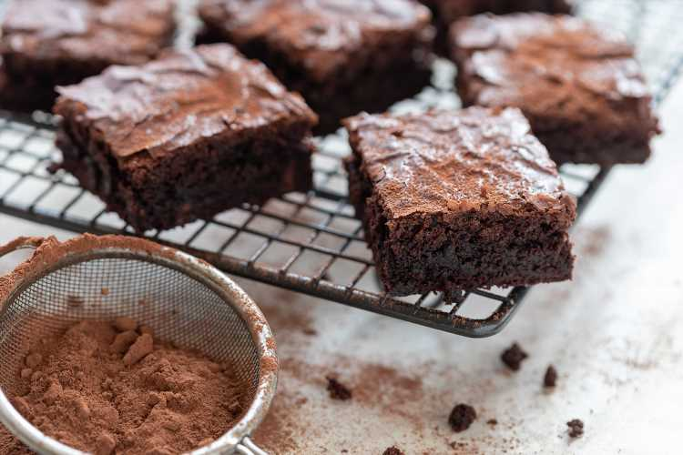 Our Mouth is Watering Just Reading This Dark Chocolate and Sweet Potato Brownie Recipe