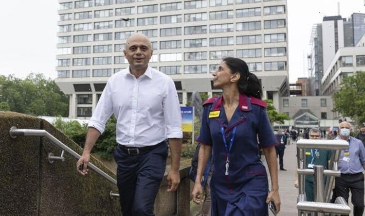 Sajid Javid says easing Covid restrictions will help cut NHS backlog