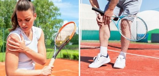 Tennis injuries: The top 5 tennis injuries and how to prevent them