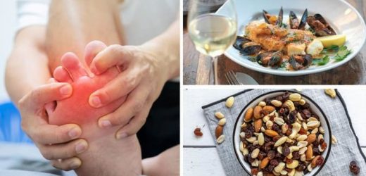 The 5 foods that cause gout and 5 that help symptoms