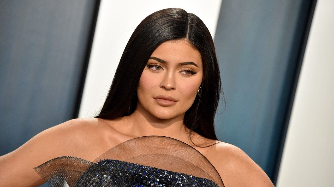Kylie Jenner's Makeup Looks Flawless in Her First Public Maternity Appearance