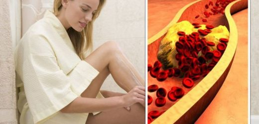 High cholesterol: The signs in your hair warning that levels have become 'deadly'