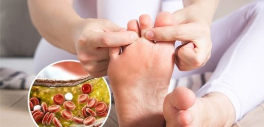 High cholesterol symptoms: The 'severe' sign in your feet that can wake you up at night